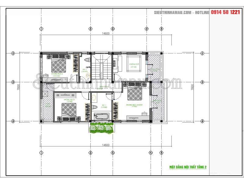 hồ sơ kiến trúc biệt thự hiện đại