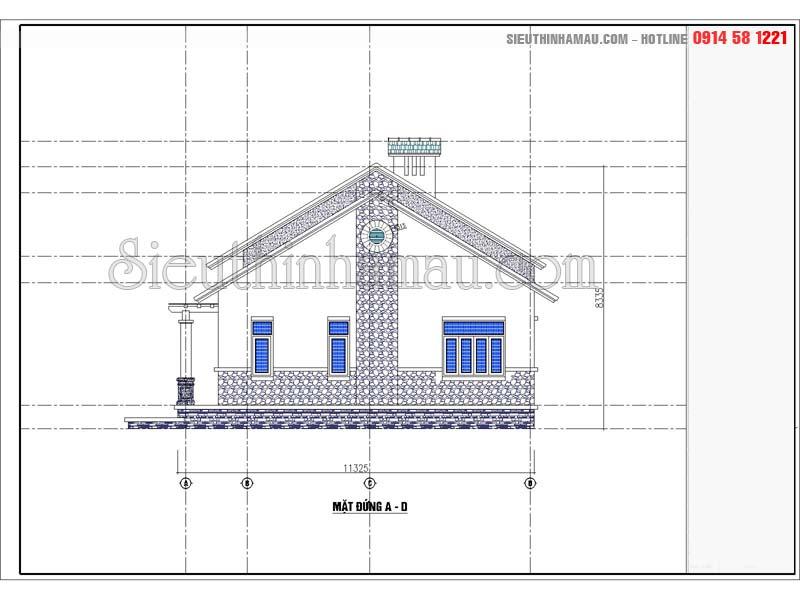thiết kế nhà cấp 4 theo phong thủy
