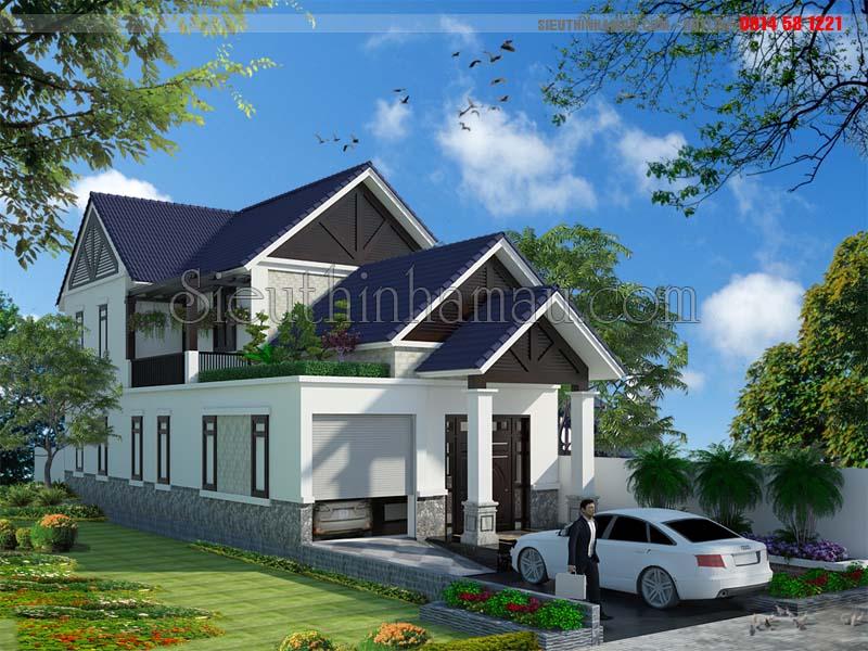 Thiết kế nhà cấp 4 7x18m