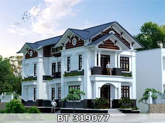 nhà đẹp phong cách tân cổ điển