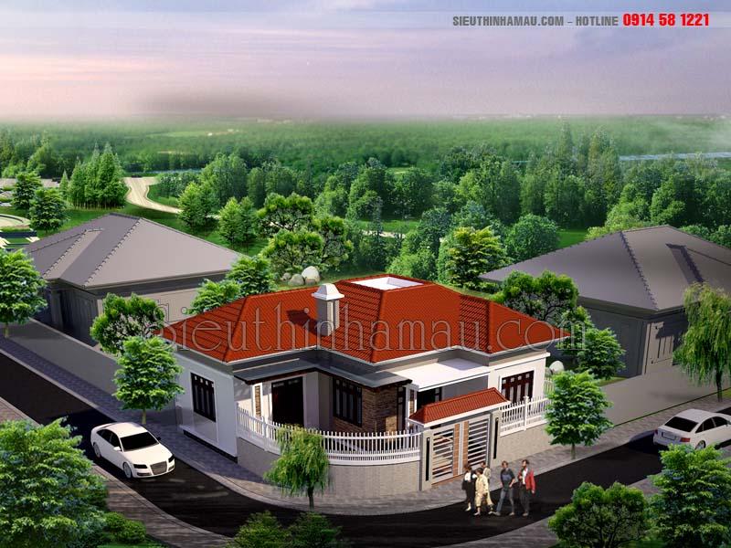 Nhà mái thái 700 triệu đep