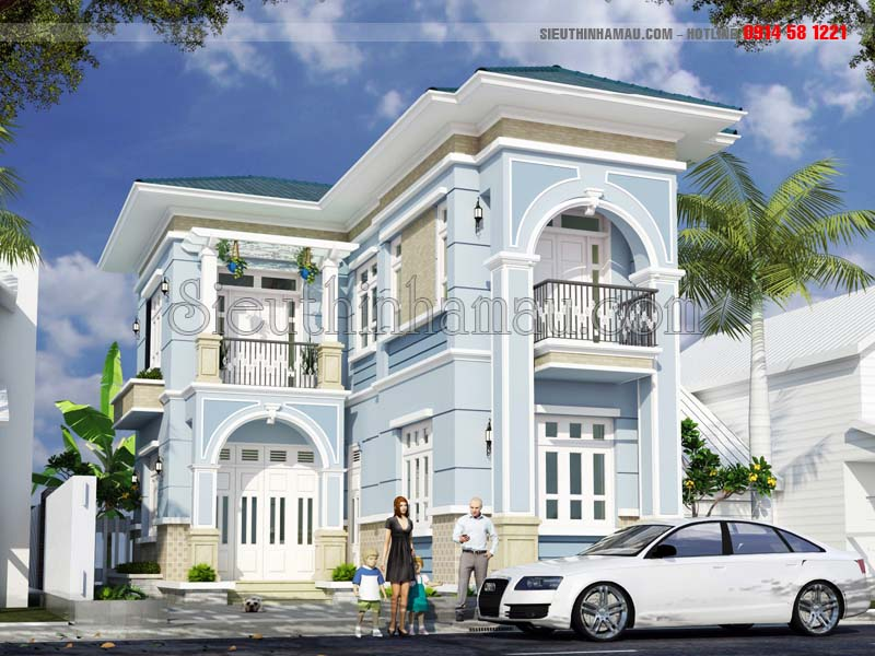 Nhà nhỏ đẹp 70m2