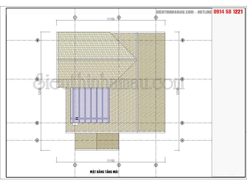 Thiết kế nhà 80m2 3 phòng ngủ đẹp