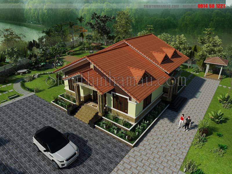 thiết kế nhà biệt thự 150m2