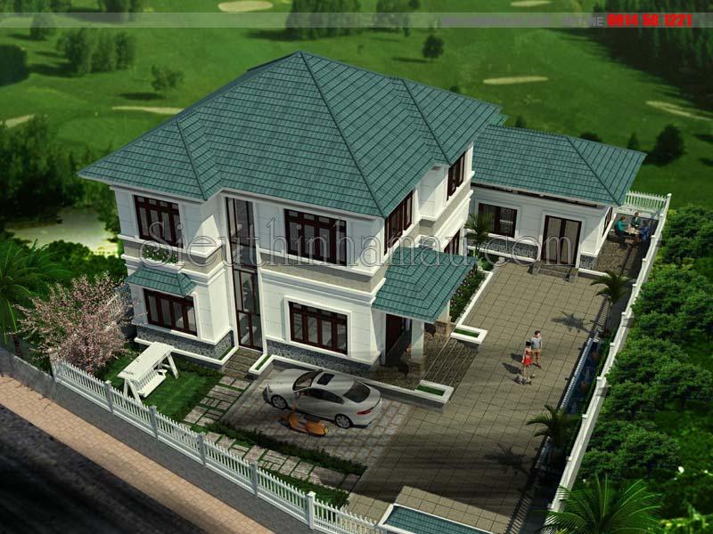 Thiết kế nhà có 5 phòng ngủ đẹp