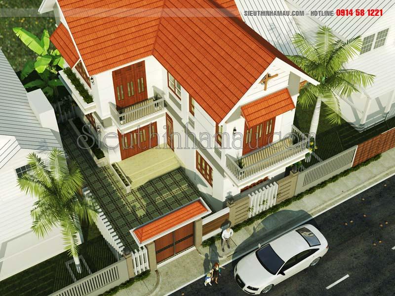 Thiết kế nhà đẹp 65m2