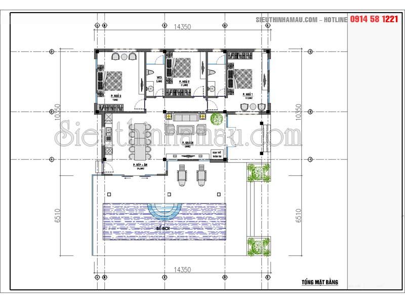 thiết kế nhà vườn nghỉ dưỡng