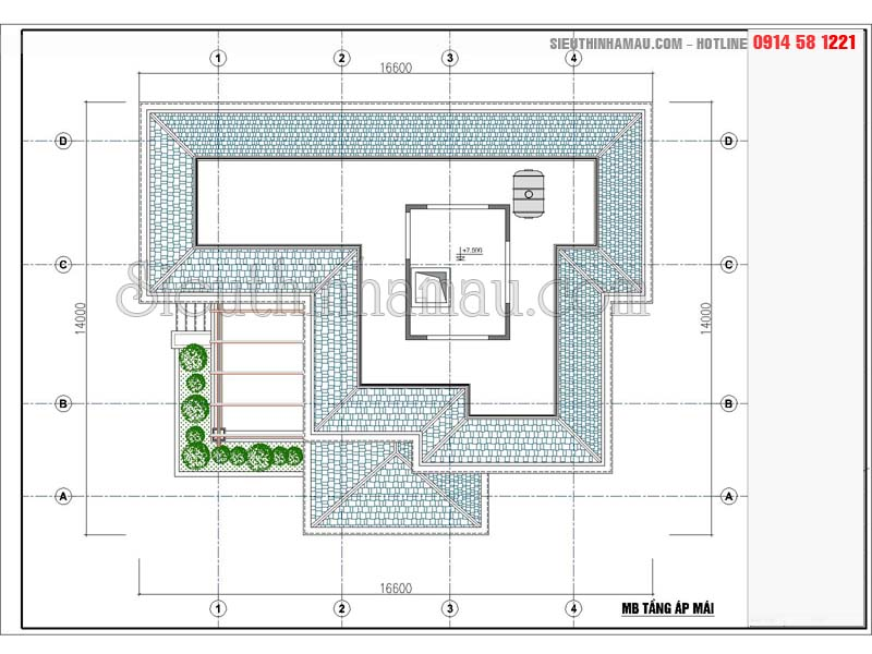 biệt thự 2 tầng 5 phòng ngủ