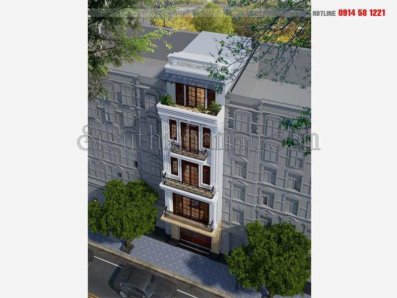 Chi phí xây nhà 5 tầng 50m2
