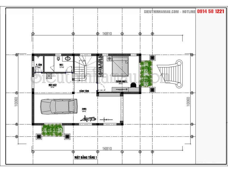 Hình ảnh biệt thự 3 tầng