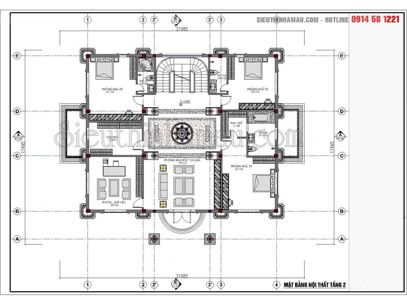 Hồ sơ thiết kế biệt thự cổ điển