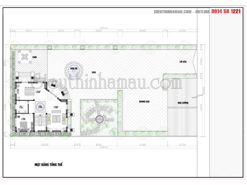 nhà 2 tầng mặt tiền mái thái
