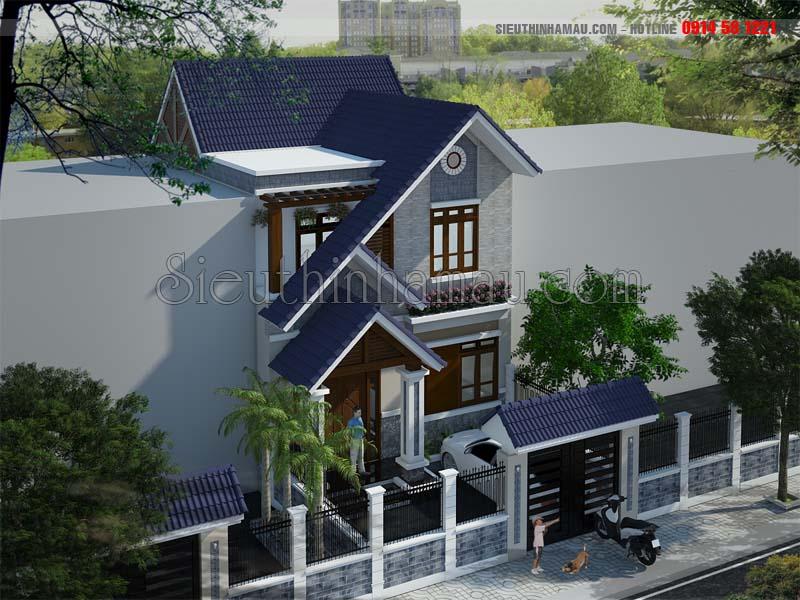 Nhà 2 tầng 7x11m