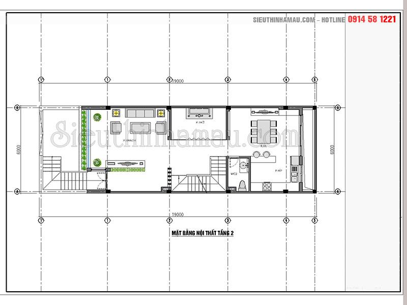 mẫu nhà phố tân cổ điển 4 tầng đẹp