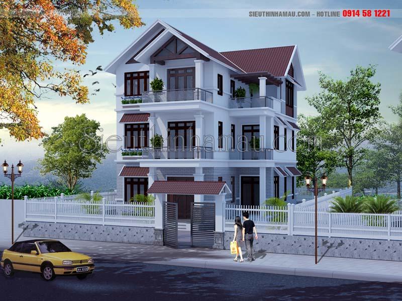 Thiết kế nhà 10x13m