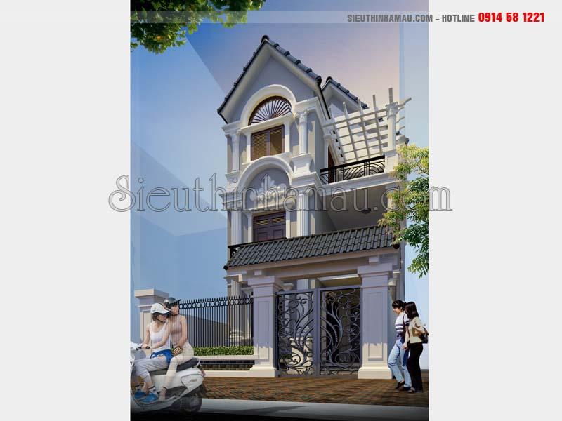 Thiết kế nhà 3 tầng 7x12m
