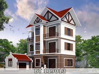 Thiết kế nhà 3 tầng 80m2