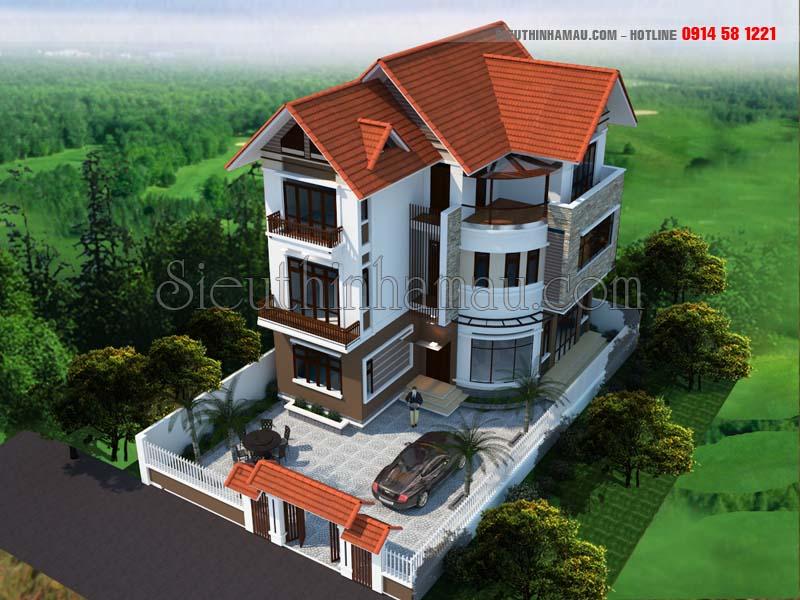 thiết kế nhà 9x13m