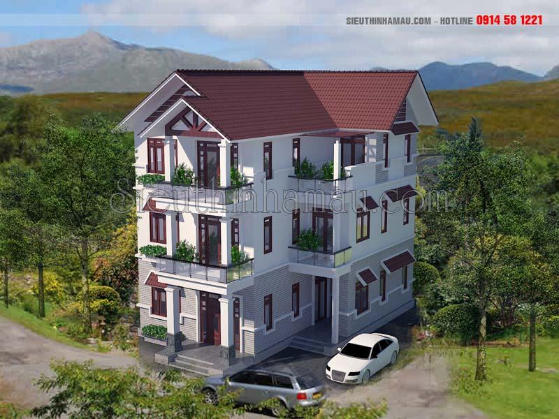 Thiết kế nhà đẹp 10x15m