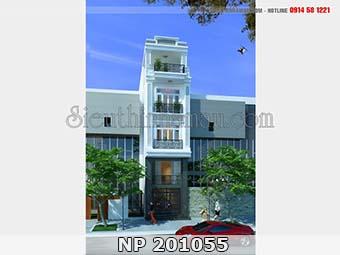 Thiết kế nhà đẹp 55m2