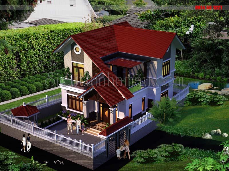 Thiết kế nhà mặt tiền rộng 10m