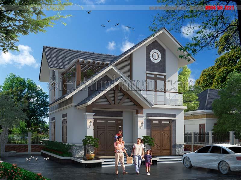 Thiết kế nhà nhỏ 80m2