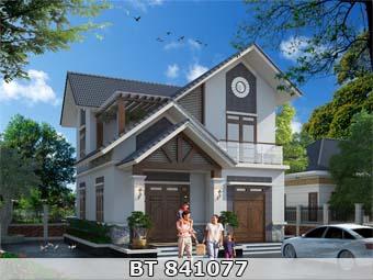 Thiết kế nhà nhỏ 80m2 đẹp