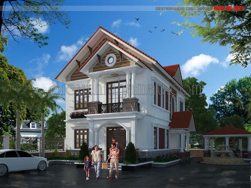 Thiết kế nhà 11x15m
