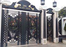 Các kiểu thiết kế cổng nhà biệt thự đẹp