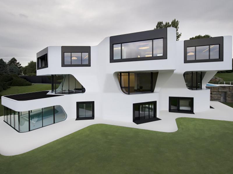 Mâu biệt thự 3 tầng độc đáo