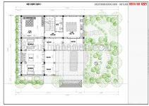 Mẫu thiết kế nhà 80m2 3 phòng ngủ